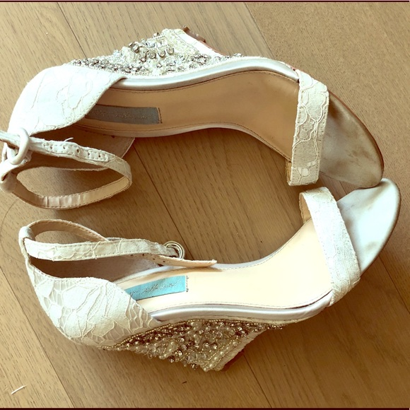Betsey Johnson Bridal Shoes With